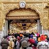 Caminando hacia el Libro Sagrado. Golden Temple, Amritsar.