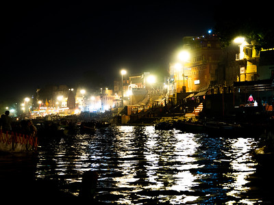 The Bright Lights of Varanasi