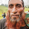 A Gujjar man on Dayara Bugyal for the butter festival