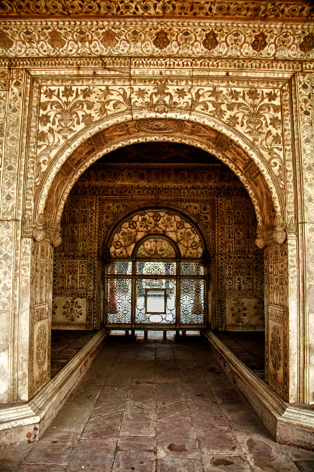 Khas Mahal, Red Fort, Old Delhi, India