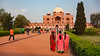 Asia. India.View of Humayun's Tomb in New Dehli.