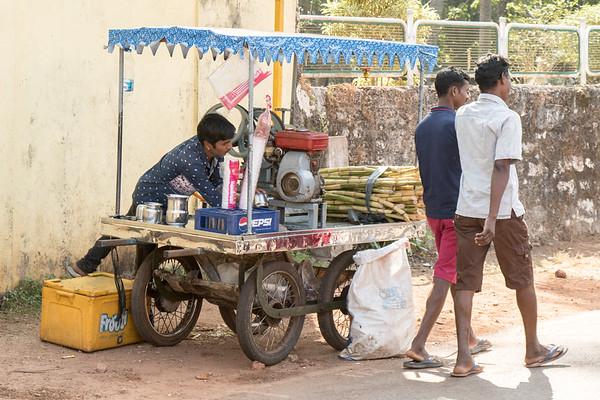 Sugar cane cart