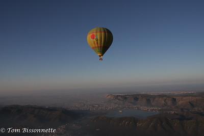 Balloon over Jaipur.