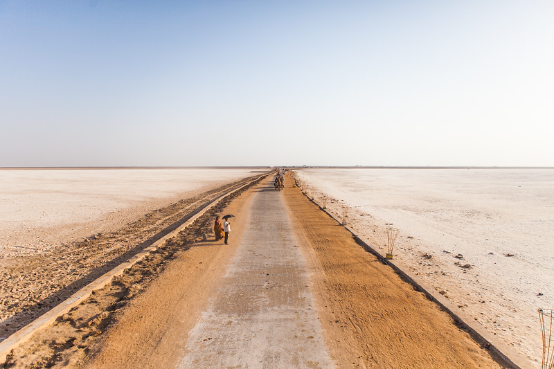 White Rann of Kutch, Gujarat, India