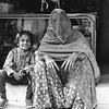 Mujer con velo tradicional Rajastaní.