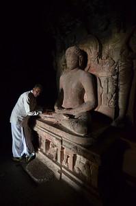 Ajanta and Ellora caves near Auranabad, India.