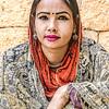 Joven casta baja del Rajastan.