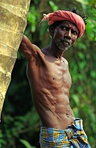 Portrait of Boatman, Kerala