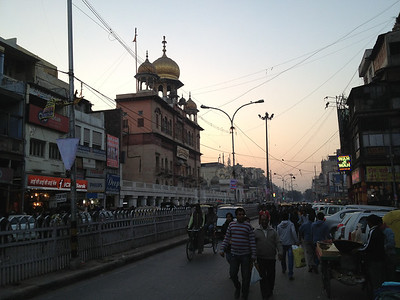 Old Delhi (near the Red Fort).