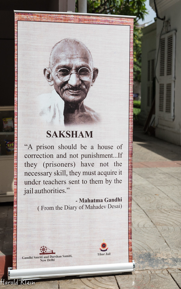 You cannot ever think of India with thinking of Gandi...