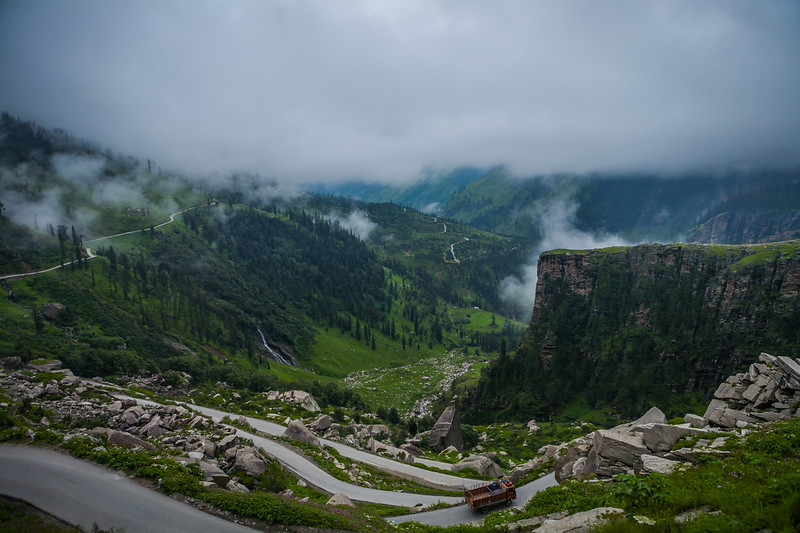 Rohtang pass - Leh to Manali Journey, India