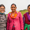 Garhwali women of the village Raithal whom we befriended during the butter festival on Dayara Bugyal