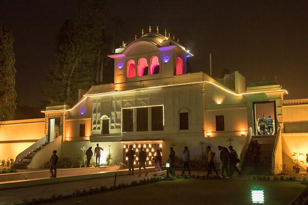 Yadavindra Gardens palace