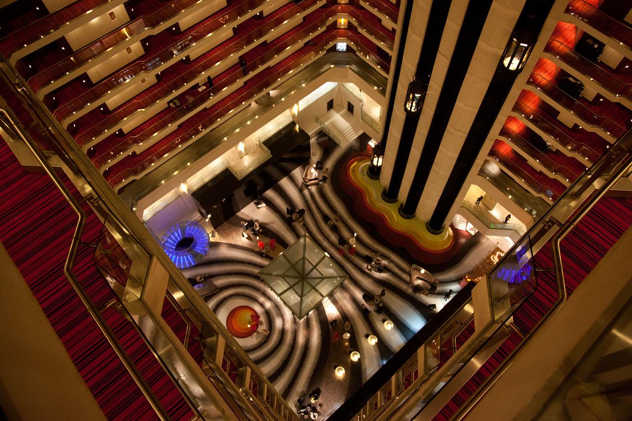 Our hotel in New Delhi.