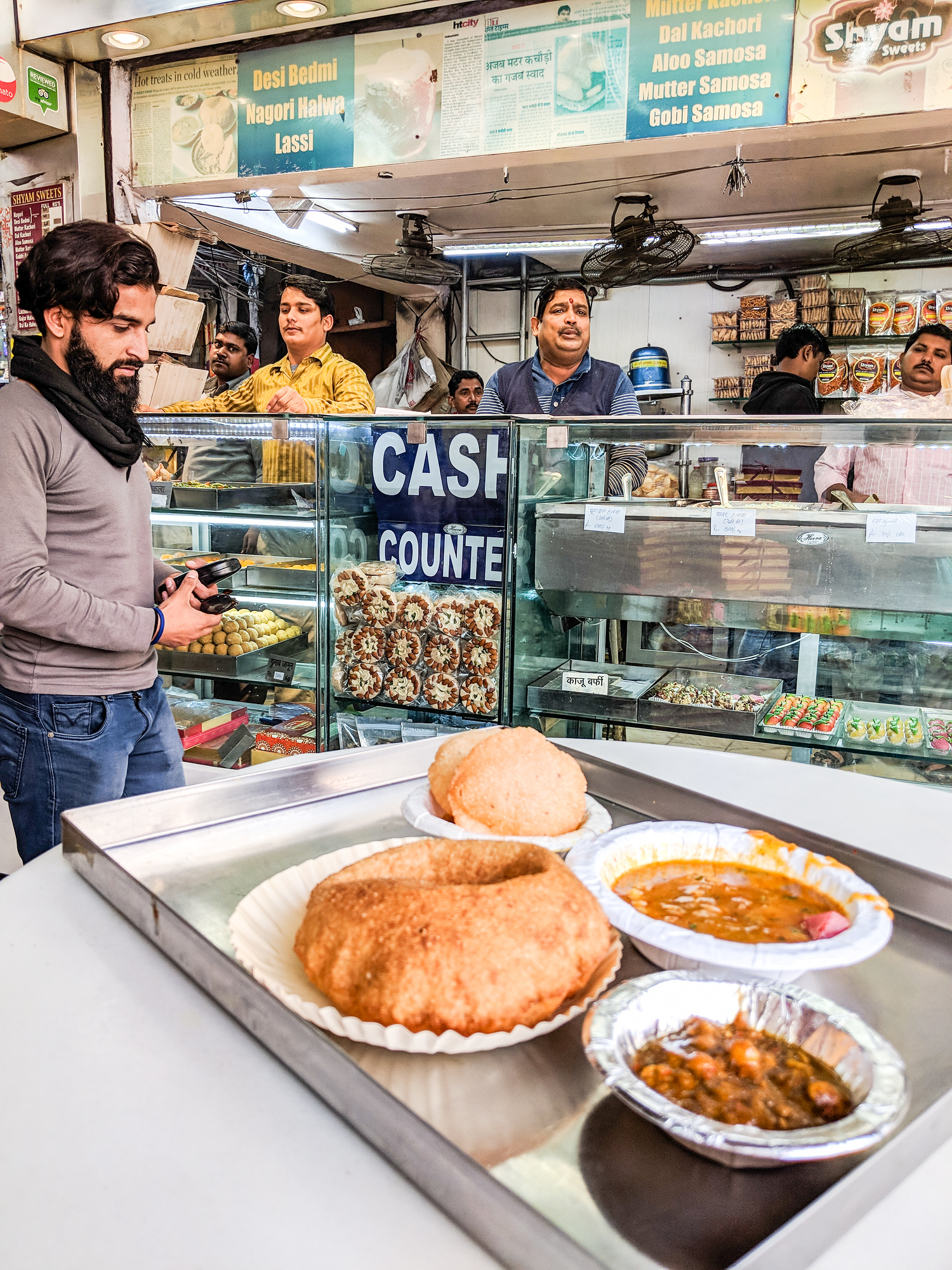 India Delhi Belly tips - how to avoid it and eat safely in India - have the right attitude. If you think you're going to be sick in India, you'll be sick.