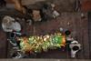 """Manikarnika (""""burning"""") ghat, Varanasi, India"""