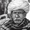 Anciano rabari de la comunidad de Tewali - Rakastan