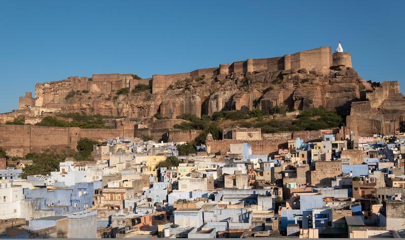 Mehrangarh Fort and Blue City, Jodhpur