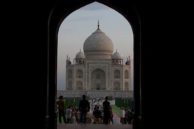 Entry way to Taj Mahal