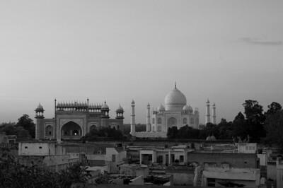 View from Taj Ganj Guesthouse