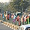 Clothing Drying, Delhi, India
