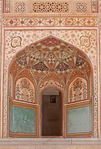 Decorative Mosaic Archway, India
