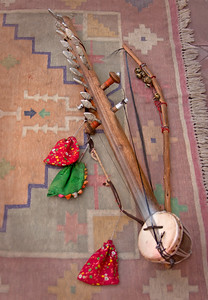 a very old musical instrument from India