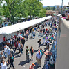 Thousands of people cover Lincoln Ave as they attend and interact with over 1,000 artists during the 95th Santa Fe Indian Market on and in the area around the Santa Fe Plaza Saturday August 20, 2016. Clyde Mueller/The New Mexican