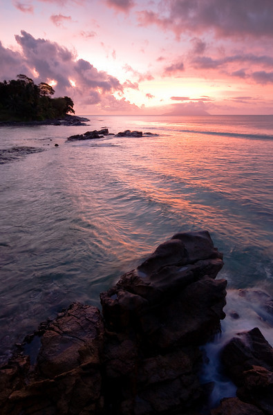 This was far and away the nicest of the three sunsets I experienced while in the Seychelles.<br /> <br /> Location: Mahé island, Seychelles<br /> <br /> Lens used: 10-22mm f3.5-4.5