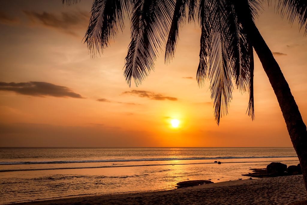 Sunset in Sengiggi, Lombok