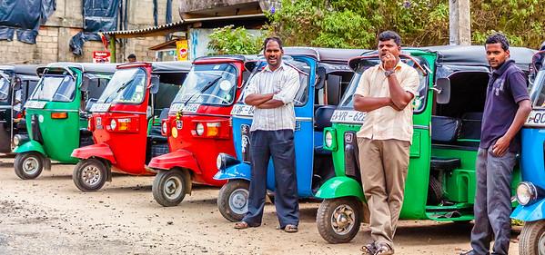 Sri Lanka, road to Nuwara Eliya