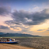 Gili Air colorful sky