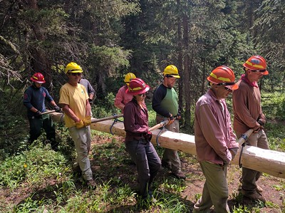 Wilderness Volunteers: 2016 Indian Peaks Wilderness, Arapahoe-Roosevelt National Forest Service Trip (Colorado)