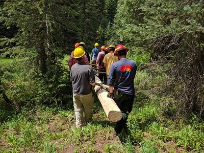 Wilderness Volunteers: 2016 Indian Peaks Wilderness, Arapahoe-Roosevelt National Forest Service Trip (Colorado)