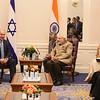 Israel Prime Prime Minister Benjamin Natanyahi met Prime Minister Modi at NY Palace on 28th sept 2014---pic Mohammed Jaffer-SnapsIndia