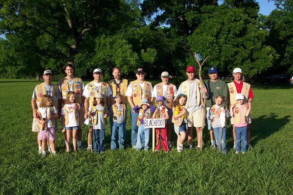 Indian Princess Camp Out - Camp Carter - May 2002