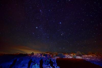 Photographers at Night