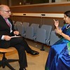 Argentine  Foreign Minister Jorge Faurie met EAM Sushma Swaraj at UN on 21st sept 2017...pic Mohammed Jaffer-SnapsIndia