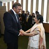 EAM Sushma Swaraj Met UAE Foreign Affairs and International Cooperation Minister HH SHEIKH ABDULLAH BIN ZAYED ALNAHYAN at UN on 18th sept 2016...pic Mohammed jaffer-SnapsIndia