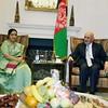 Afghanistan President  Mohammad  Ashraf Ghani met EAM Sushma Swaraj at in NY on 20 sept 2017,,,,pic Mohammed Jaffer-SnapsIndia