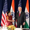 US Secretary of State Tillerson and EAM Sushma Swaraj met in NY on 22nd sept 2017...pic Mohammed Jaffer-SnapsIndia