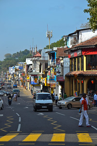 The town of Kandy