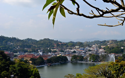 Overlooking the Royal City of Kandy - an UNESCO World Heritage Site
