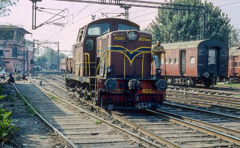 WDS4B 19287  Delhi Junction 16 February 1992