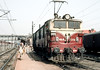 Waiting its next turn of duty WAM4P 21254 is at Kanpur Central on 28 February 1992