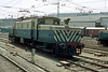 Very elderly electric locomotive WCG1 20048 has been reduced to shunting duties at Bombay VT on 6 March 1992