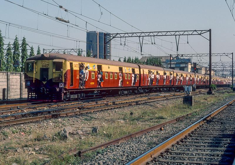EMU 0417 Bombay Central 6 March 1992