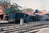 YG 3501 shuffles rolling stock about at Agra Fort on 2 March 1992