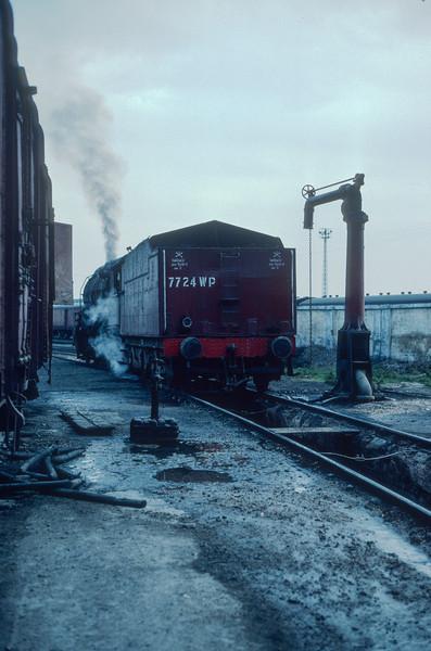 WP 7724 at Moradabad on 18 February 1992