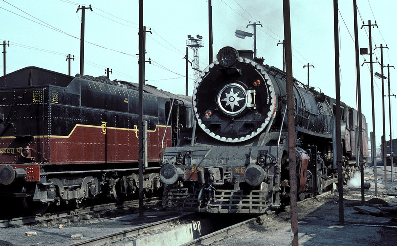 WG8159 is pictured at Sonpur depot on 22 February 1992